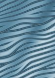 Abstract curves - blue background royalty free illustration