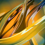 Abstract curves wave. Stock Photography