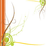 Abstract curvy background Stock Image