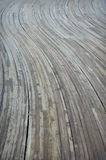 Abstract Curvy Wood Stock Photo