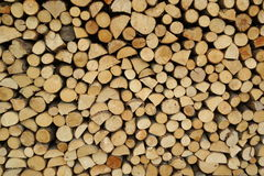 Abstract cut log-end pattern Stock Photos