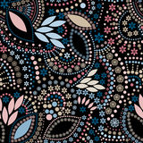 Abstract cute background seamless pattern Royalty Free Stock Photos