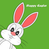 Abstract cute easter bunny Royalty Free Stock Image