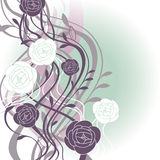 Abstract cute floral background Royalty Free Stock Photography