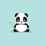 Abstract cute panda Royalty Free Stock Photo