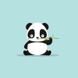 Abstract cute panda Stock Photography