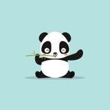 Abstract cute panda Royalty Free Stock Image