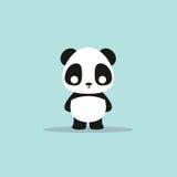 Abstract cute panda Stock Images