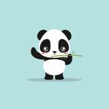Abstract cute panda Royalty Free Stock Photos