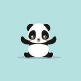 Abstract cute panda Royalty Free Stock Images