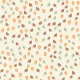 Abstract cute seamless pattern background Stock Image