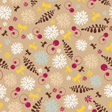 Abstract cute spring seamless background Royalty Free Stock Photo
