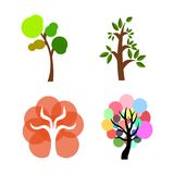 Abstract cute tree Royalty Free Stock Photos