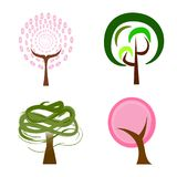 Abstract cute tree Royalty Free Stock Photography