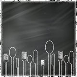 Abstract Cutlery Royalty Free Stock Photography