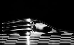 Abstract Cutlery, Modern Design Picture Royalty Free Stock Photography
