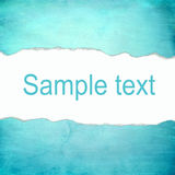 Abstract cyan background with blank space for text Stock Photos
