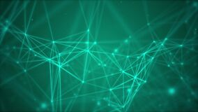 Abstract cyber network background.