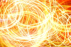 Abstract cyrcles of light wallpaper Stock Images