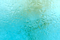 Abstract 3D aquamarine background Stock Images