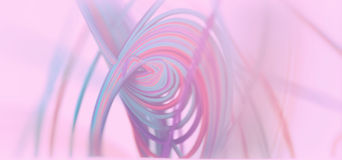 Abstract 3d Background. Colored Spiral Lines 3d Abstract Background Royalty Free Stock Photo
