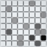 Abstract 3d background - grey cubes Royalty Free Stock Image