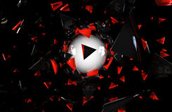 Abstract 3D background. Superior quality 3D rendered background Stock Photo