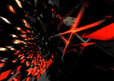 Abstract 3D background. Superior quality 3D rendered background vector illustration