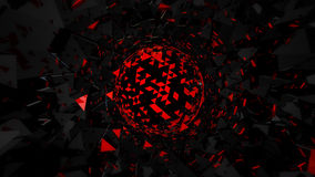 Abstract 3D background. Superior quality 3D rendered background Stock Image