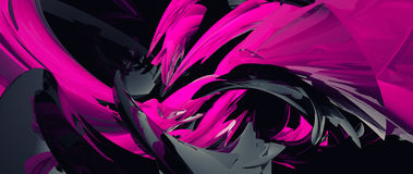 Abstract 3D background Stock Photography