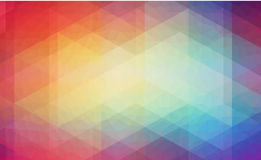 Abstract 2D background with triangle shapes Royalty Free Stock Images