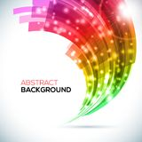 Abstract 3D Background. Vector illustration Royalty Free Stock Image