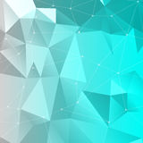 The abstract 3D background. Vector illustration with 3D background and lines stock illustration