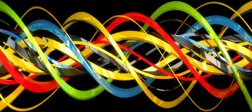 Abstract 3D background. Xtreme quality 3D rendered background stock illustration