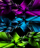 Abstract 3D backgrounds. Xtreme quality 3D rendered backgrounds Stock Image