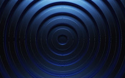 Abstract 3d blue geometric background. Blue texture with shadow. 3D render Stock Photos