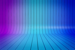 Abstract 3D blue gradient stripes background Royalty Free Stock Photo