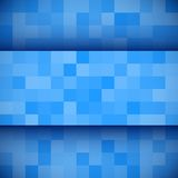 Abstract 3D business blue background. Stock Image