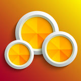 Abstract 3d circle Stock Images