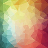 Abstract 2D Colorful geometric background. Illustration Stock Illustration