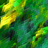 Abstract 3d colorful mosaic background. EPS 8 Stock Photography