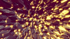 Abstract 3D cool manga style moving background. Seamless stock illustration