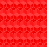 Abstract 3d cube pipe pattern background. stock illustration
