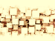Abstract 3d cubes background. Abstract 3d cubes geometric background Royalty Free Stock Photography