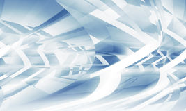 Abstract 3d digital background, blue pattern Stock Image