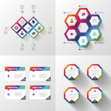 Abstract 3D digital illustration Infographic. Business concept. Vector illustration Royalty Free Stock Images