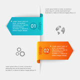 Abstract 3D digital illustration Infographic. Vector illustratio. N can be used for workflow layout, diagram, number options, web design Royalty Free Stock Photo