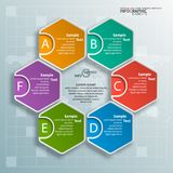 Abstract 3D Document Infographics Stock Fotografie