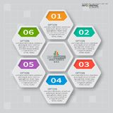Abstract 3D Document Infographics Royalty-vrije Stock Fotografie