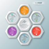 Abstract 3D Document Infographics stock illustratie